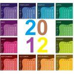 Calendario Colombia 2012